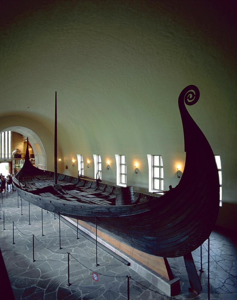 Oseburg Ship, Viking Ship Museum, Oslo, Norway, Scandinavia, Europe