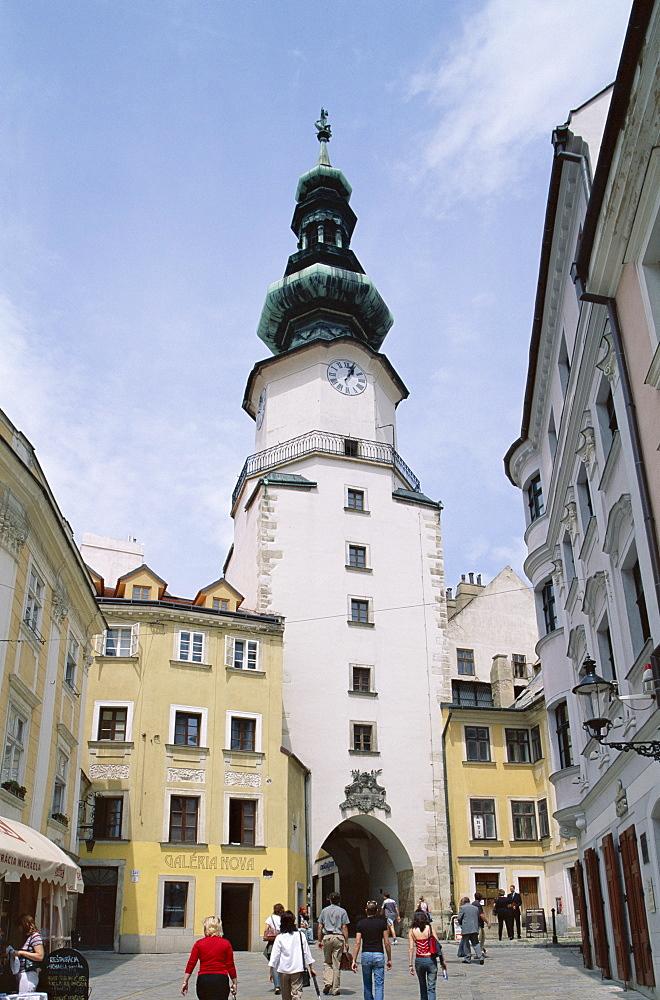 Town Gateway, Old City (Stare Mesto), Bratislava, Slovakia, Europe