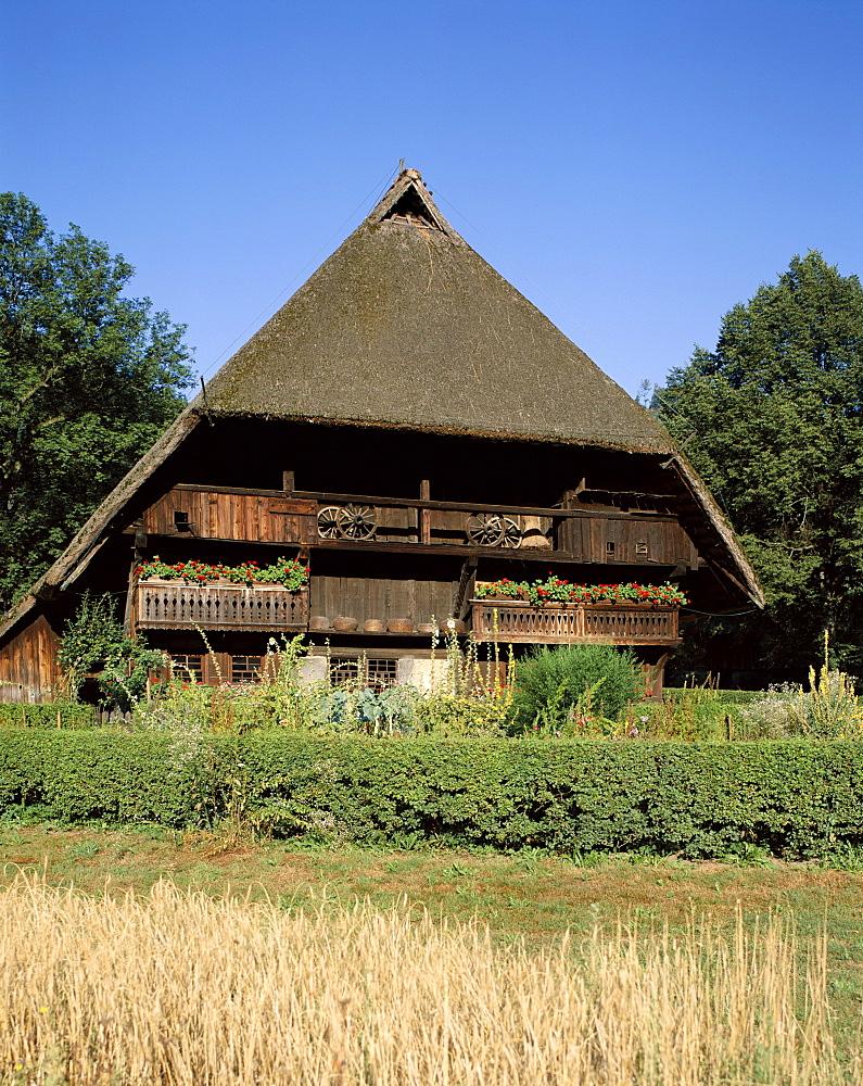 Open Air Museum, Vogtsbauernhof, Gutach, Black Forest (Schwarzwald), Baden-Wurttemberg, Germany, Europe