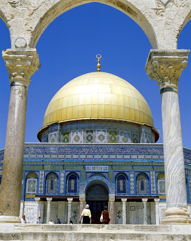 Dome of the Rock, UNESCO World Heritage Site, Jerusalem, Israel, Middle East