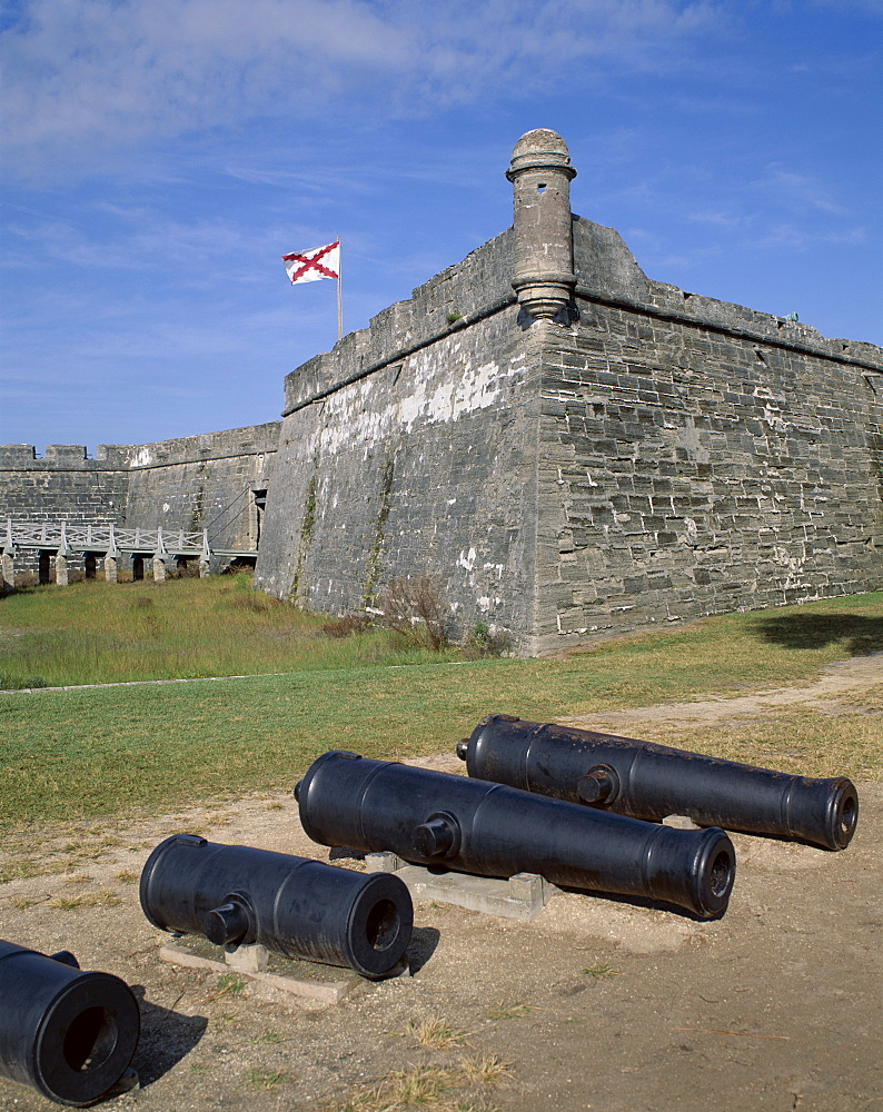 Spanish Fort, Castillo de San Marcos National Monument, St. Augustine, Florida, United States of America, North America