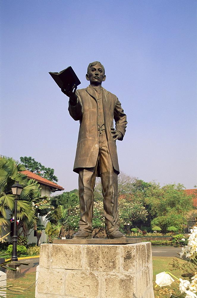 Rizal statue in Fort Santiago, Manila, Philippines, Southeast Asia, Asia