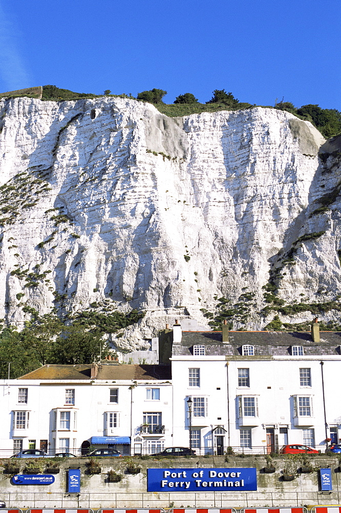 The White Cliffs of Dover, Dover, Kent, England, United Kingdom, Europe