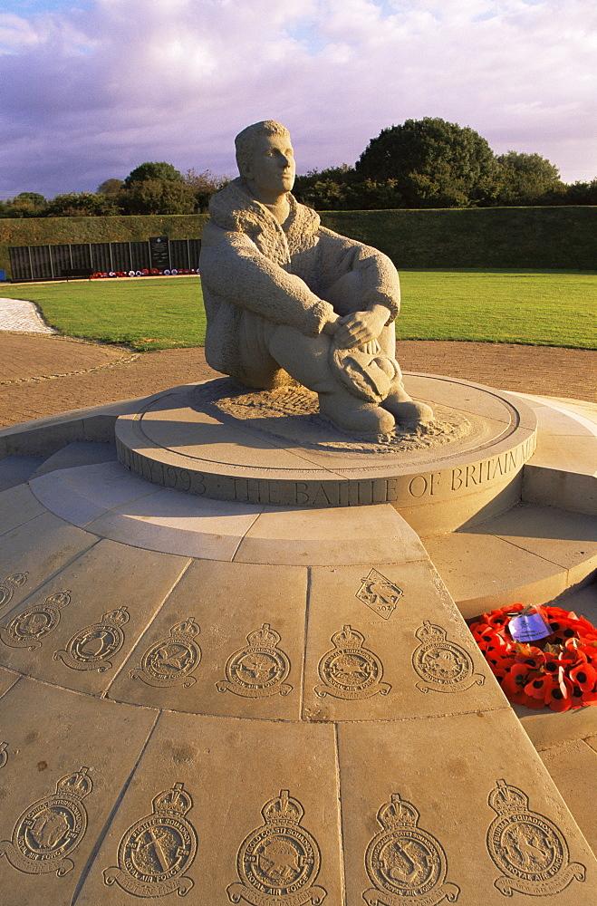 The Battle of Britain Memorial at Capel-le-Ferne, near Folkestone, Kent, England, United Kingdom, Europe