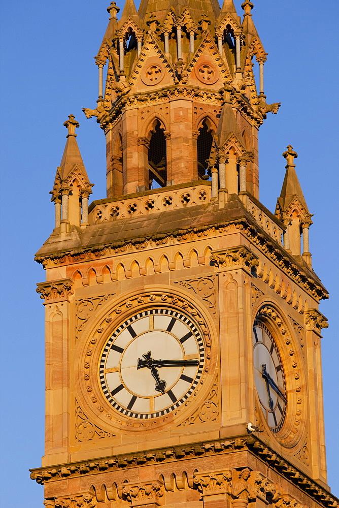 Albert Memorial Clock Tower, Belfast, Ulster, Northern Ireland, United Kingdom, Europe