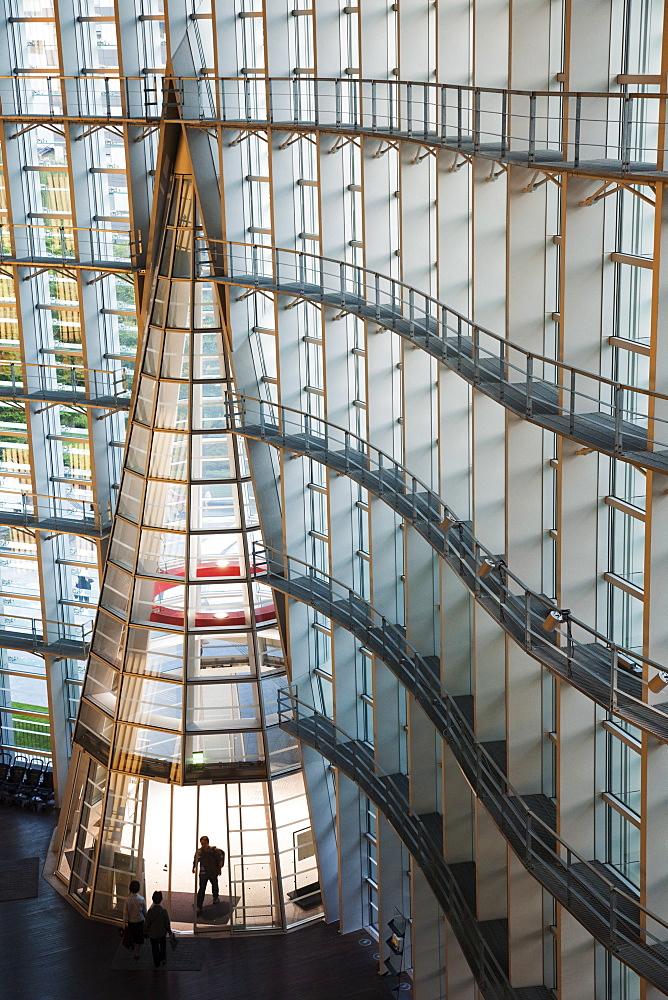 The National Art Centre, Kisho Kurokawa Architect. Roppongi, Tokyo, Japan, Asia - 834-6384