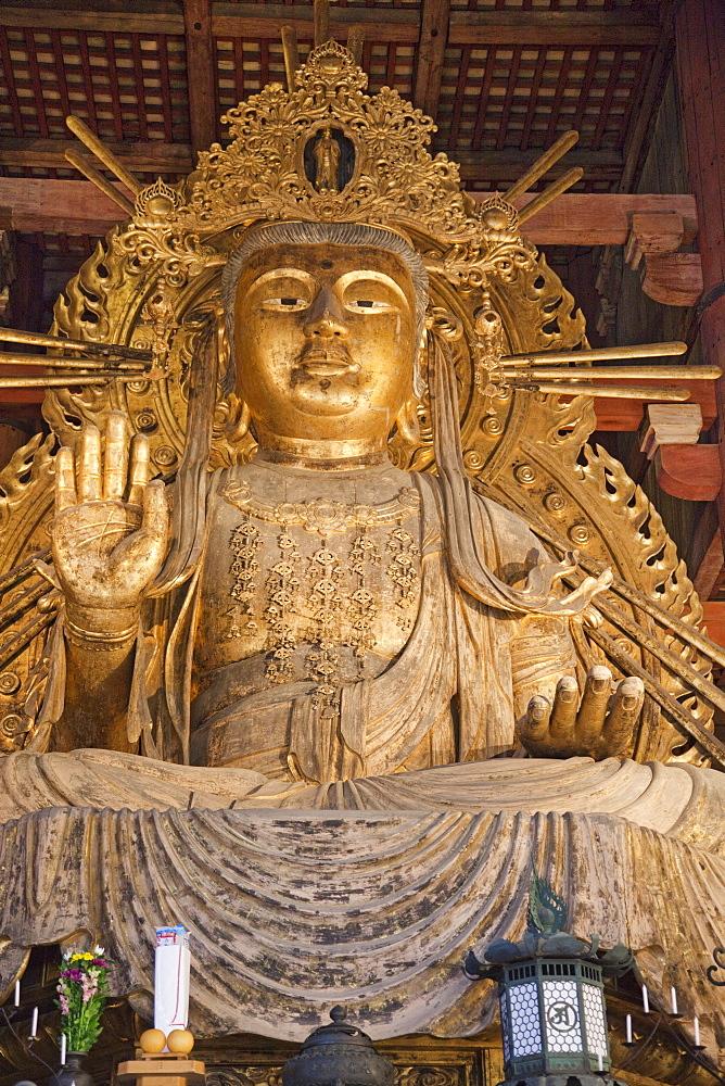 Statue of Nyoirin-kannon, Todaiji Temple, Nara, UNESCO World Heritage Site, Japan, Asia