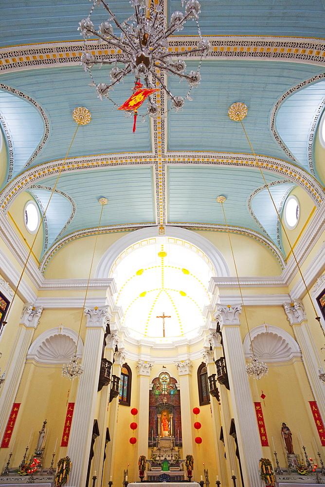 St. Lawrence's Church, Macau, China, Asia