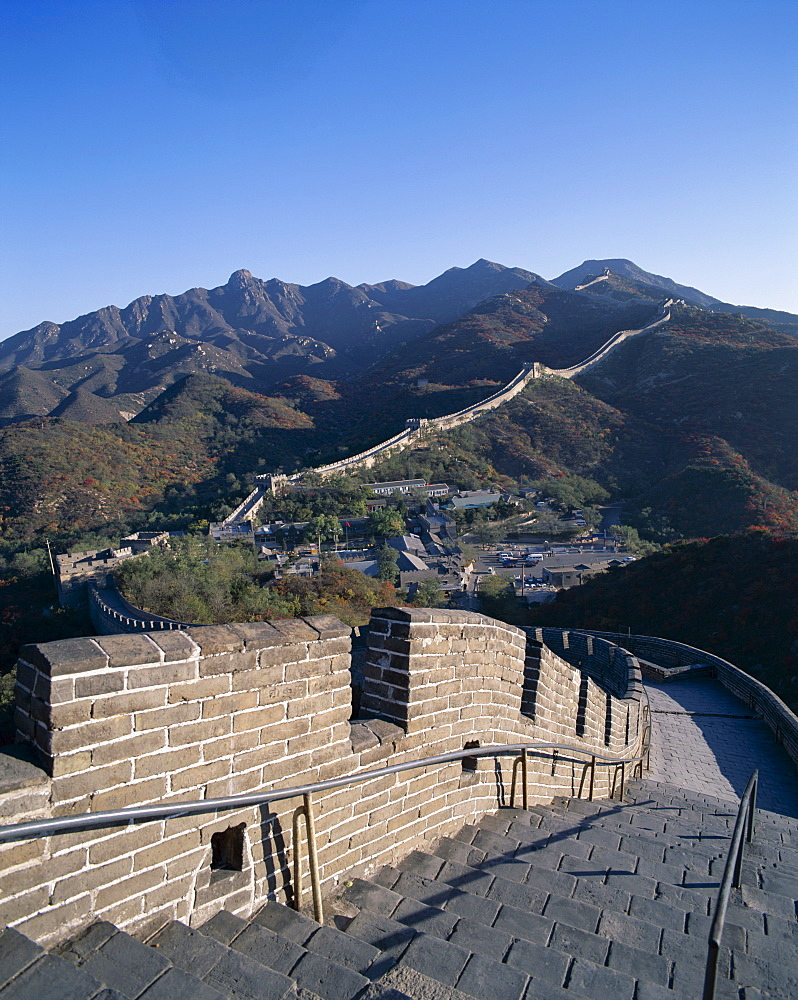 Great Wall at Badaling, UNESCO World Heritage Site, near Beijing, China, Asia