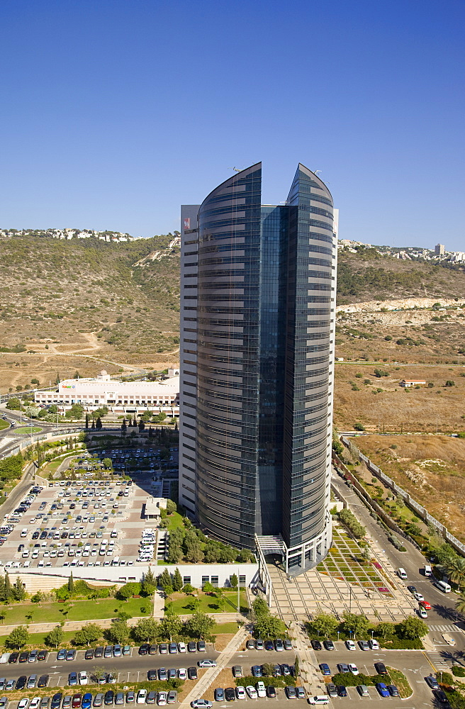 The Headquarters of the Israeli power company in the southern entrance of the city of Haifa - 837-1153