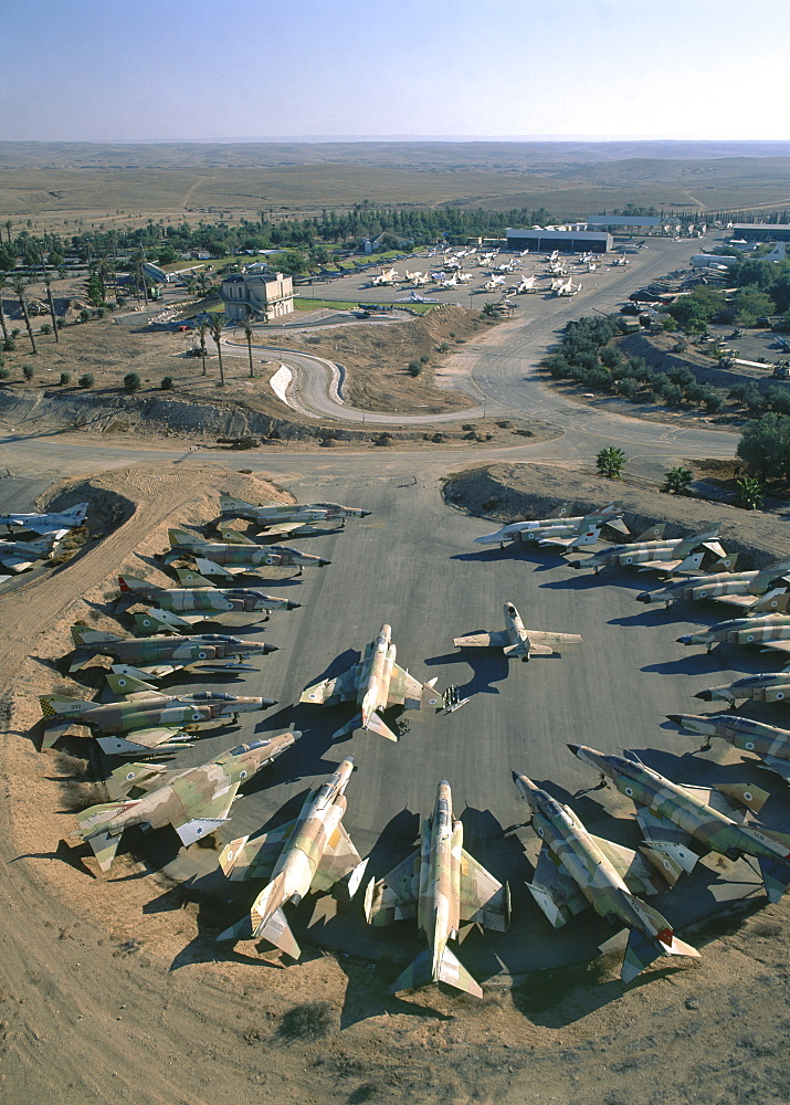 Aerial Museum of the Israeli Air Force in the Northern Negev, Israel
