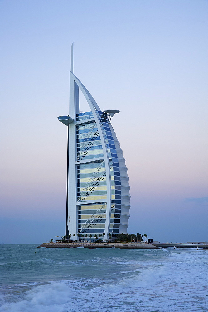 Burj Al Arab hotel, Jumeirah, Dubai, United Arab Emirates, Middle East