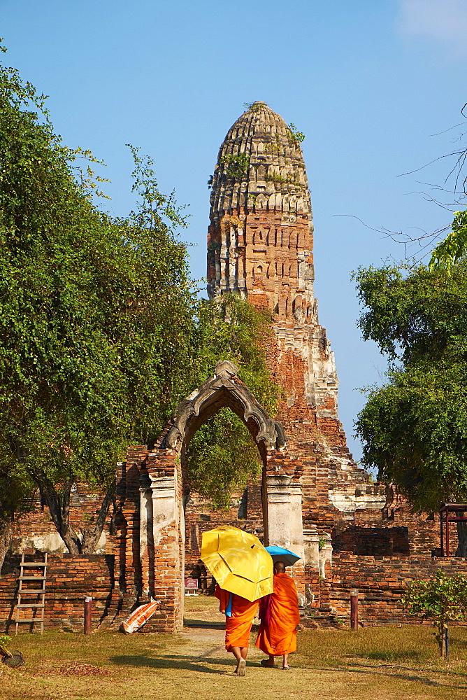 Wat Phra Ram, Ayutthaya Historical Park, UNESCO World Heritage Site, Ayutthaya, Thailand, Southeast Asia, Asia - 841-1489