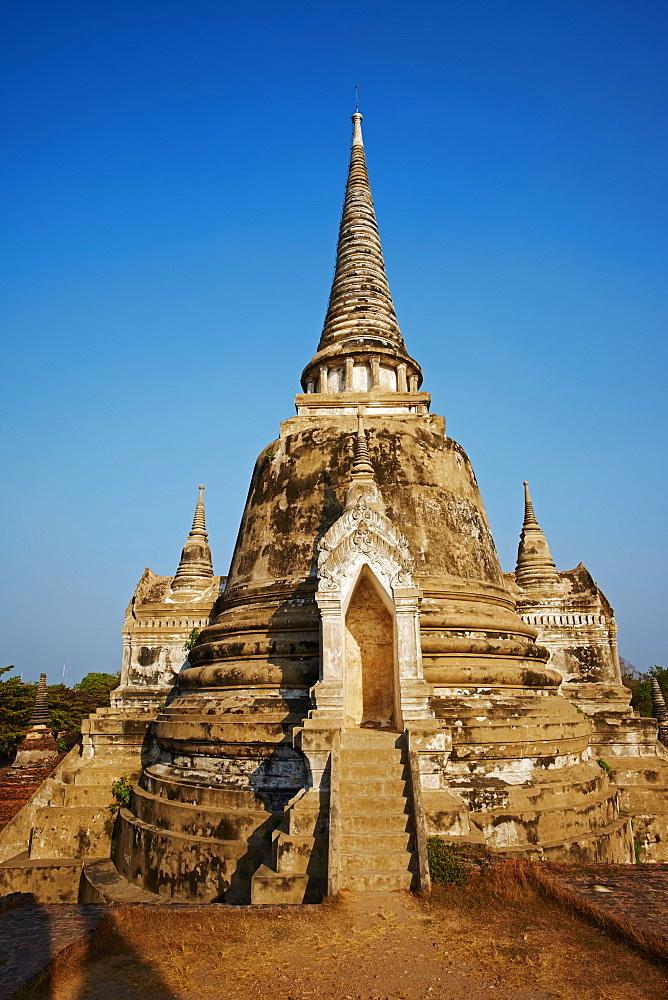 Wat Phra Si Sanphet, Ayutthaya Historical Park, UNESCO World Heritage Site, Ayutthaya, Thailand, Southeast Asia, Asia - 841-1491