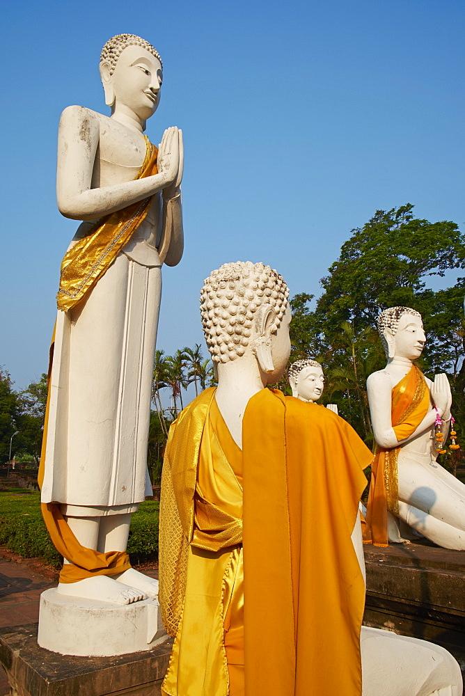 Wat Yai Chai Mongkhon, Ayutthaya Historical Park, UNESCO World Heritage Site, Ayutthaya, Thailand, Southeast Asia, Asia - 841-1496