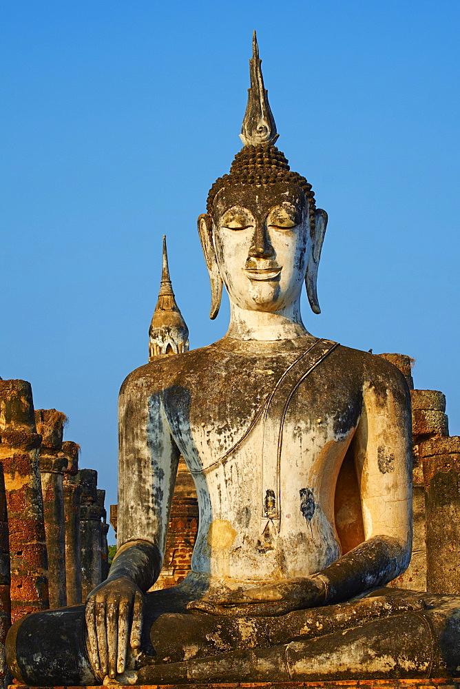 Wat Mahatat, Sukhothai Historical Park, UNESCO World Heritage Site, Sukhothai, Thailand, Southeast Asia, Asia - 841-1501