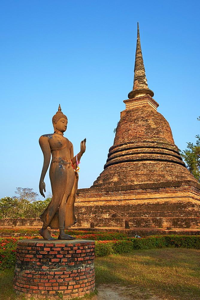 Wat Sa Sri, Sukhothai Historical Park, UNESCO World Heritage Site, Sukhothai, Thailand, Southeast Asia, Asia - 841-1520