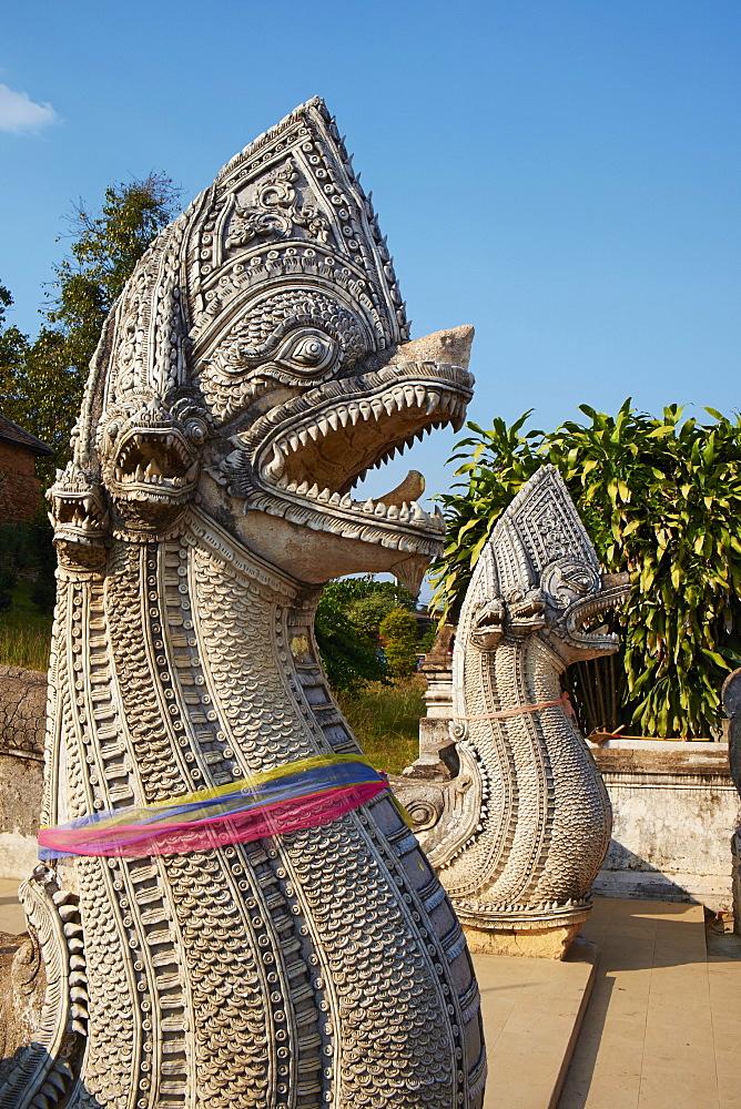 Fortress monastery of Wat Phra That Lampang Luang, Lampang, Thailand, Southeast Asia, Asia - 841-1531