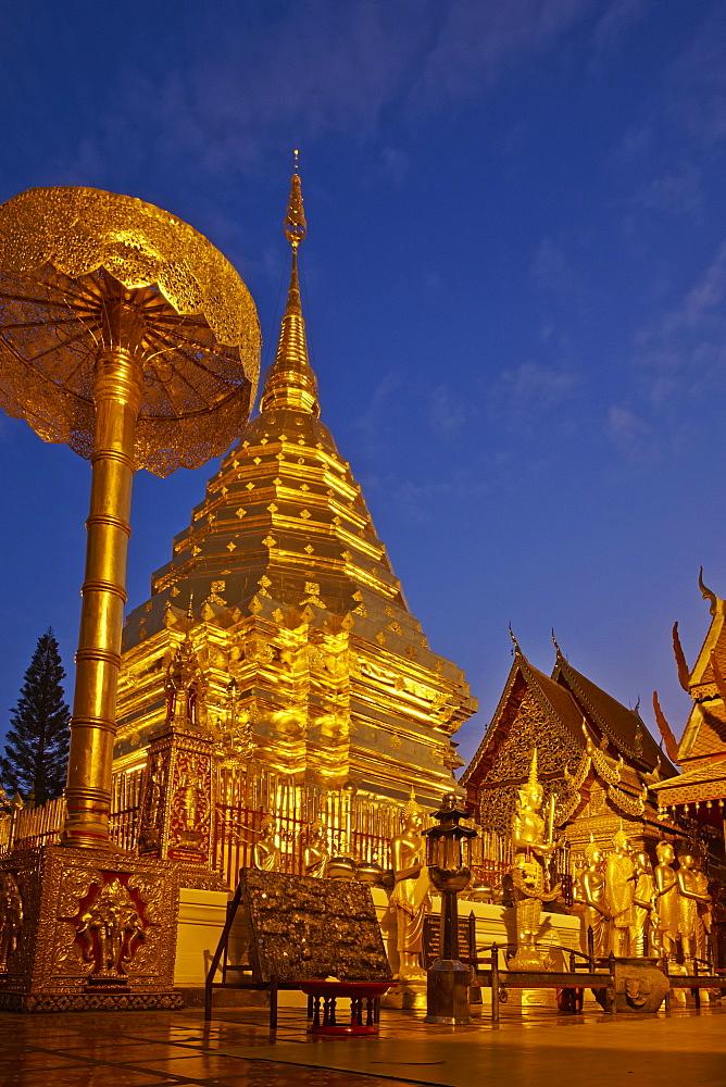Wat Phra That Doi Suthep, Chiang Mai, Thailand, Southeast Asia, Asia - 841-1539