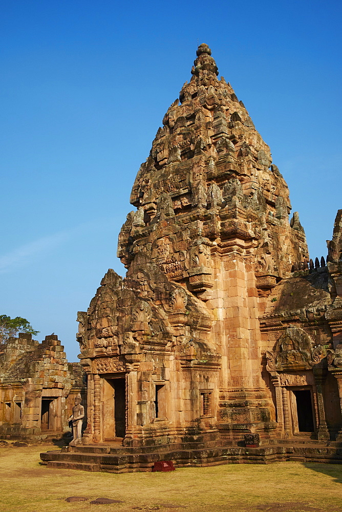 Phanom Rung Temple, Khmer temple from the Angkor period, Buriram Province, Thailand, Southeast Asia, Asia - 841-1574