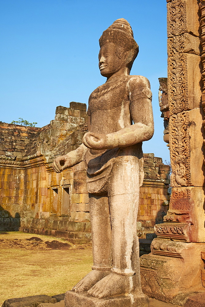 Phanom Rung Temple, Khmer temple from the Angkor period, Buriram Province, Thailand, Southeast Asia, Asia - 841-1576
