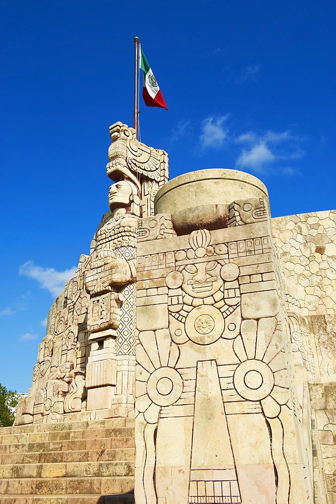 Monumento a la Patria, Paseo de Montejo, Merida, Yucatan State, Mexico, North America