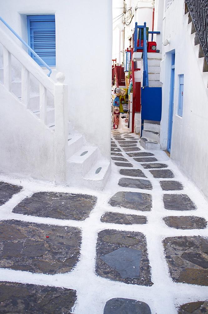 The Chora (Hora), Mykonos island, Cyclades Islands, Greek Islands, Greece, Europe