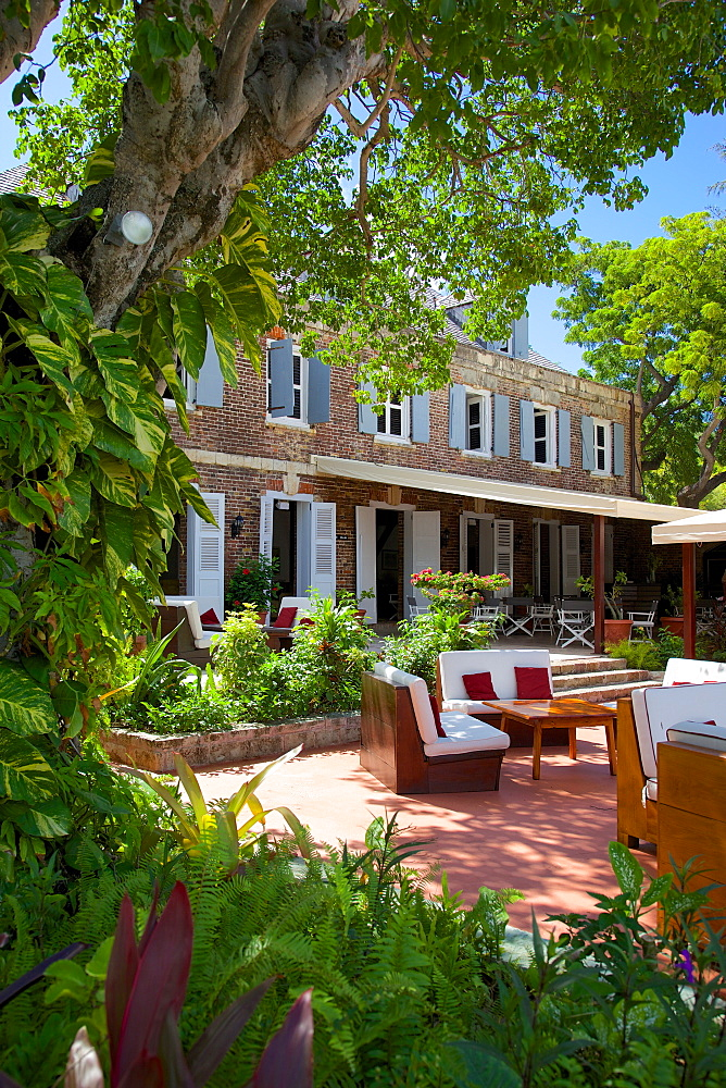 The Admiral's Inn, Nelson's Dockyard, Antigua, Leeward Islands, West Indies, Caribbean, Central America