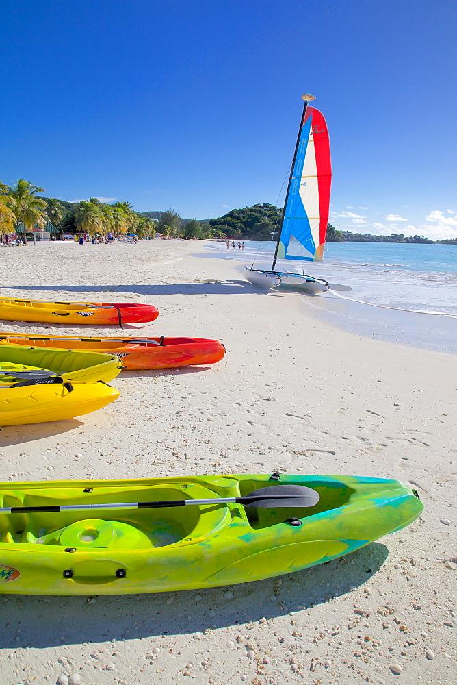 Beach, Jolly Harbour, St. Mary, Antigua, Leeward Islands, West Indies, Caribbean, Central America