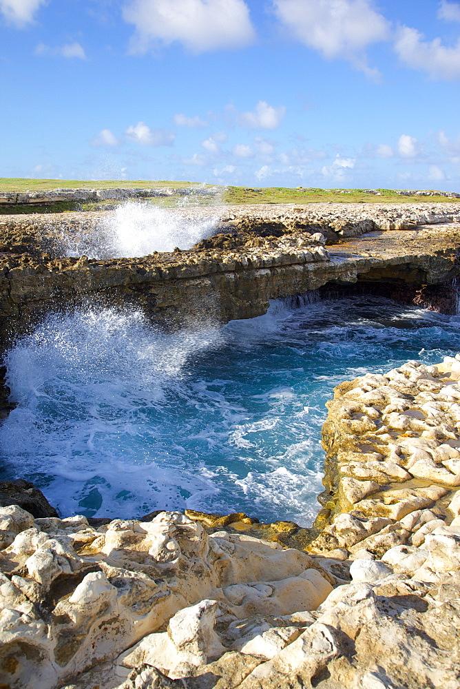 Devil's Bridge, St. Peter, Antigua, Leeward Islands, West Indies, Caribbean, Central America