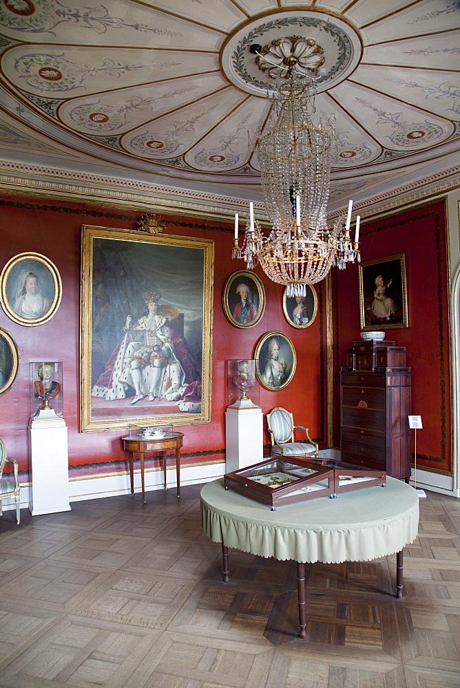 Interior, Rosenborg Castle, Copenhagen, Denmark, Scandinavia, Europe