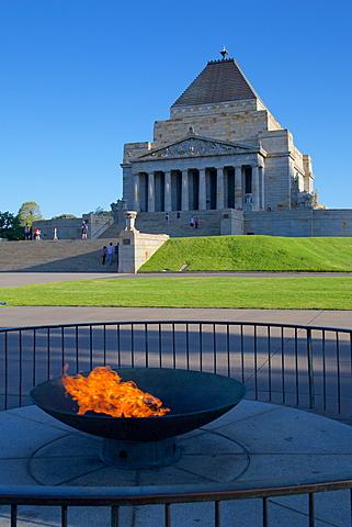 Shrine of Remembrance, Melbourne, Victoria, Australia, Pacific