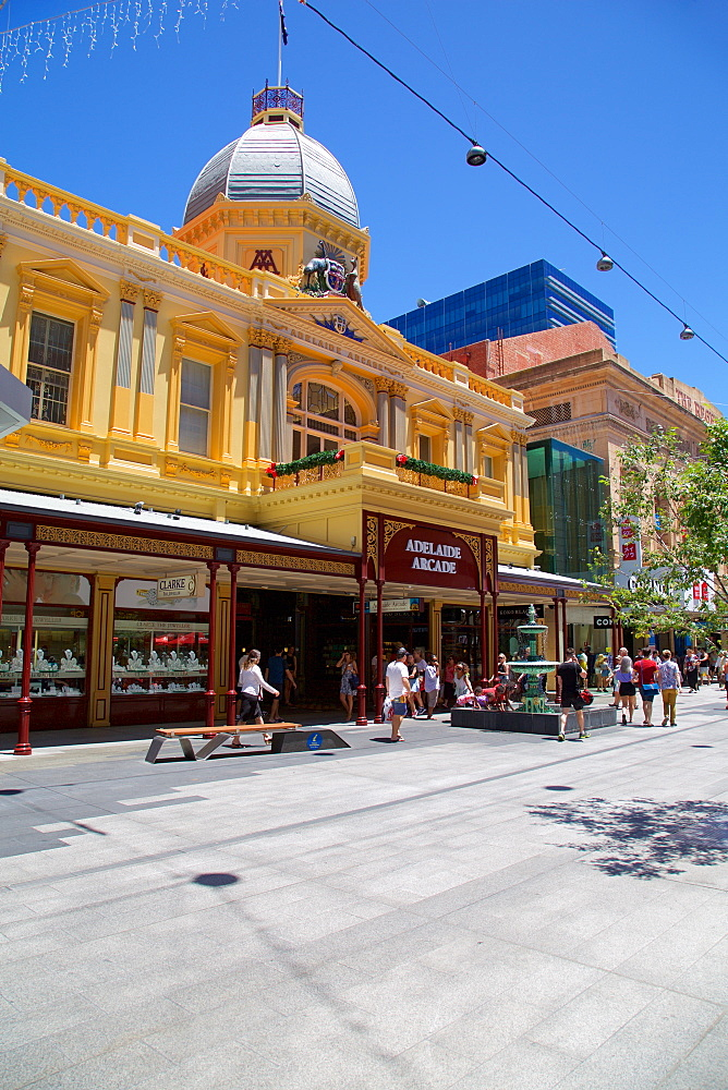 The Adelaide Arcade, Adelaide, Australia, Oceania