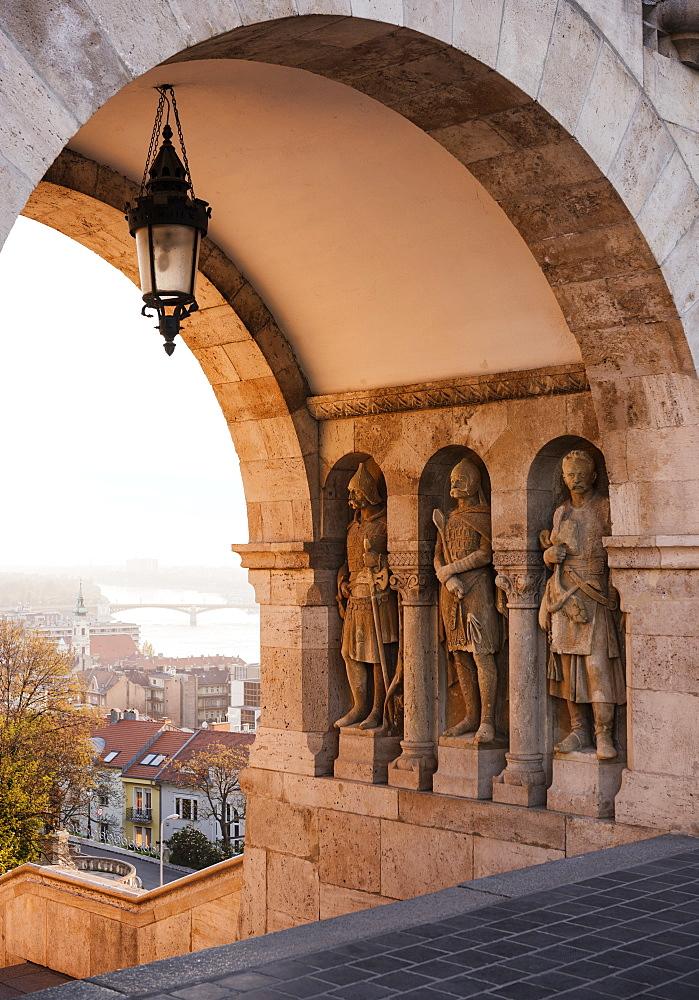 Fisherman's Bastion, Budapest, Hungary, Europe