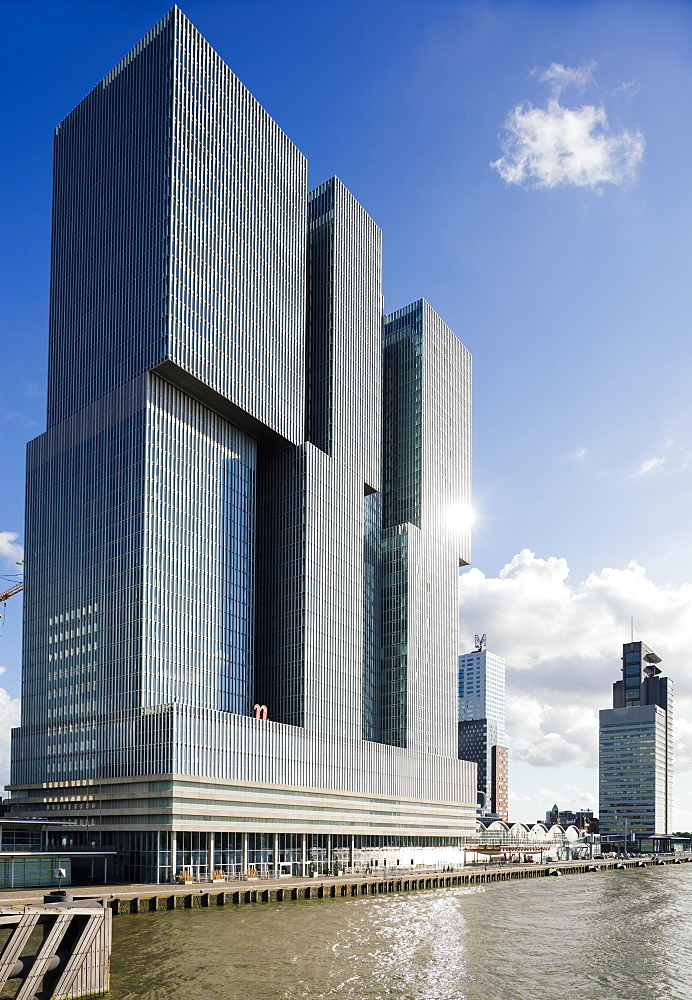 De Rotterdam, Wilhelminakade, Rotterdam, Netherlands, Europe