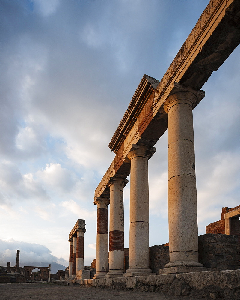 Pompeii, UNESCO World Heritage Site, Campania, Italy, Europe - 848-1300