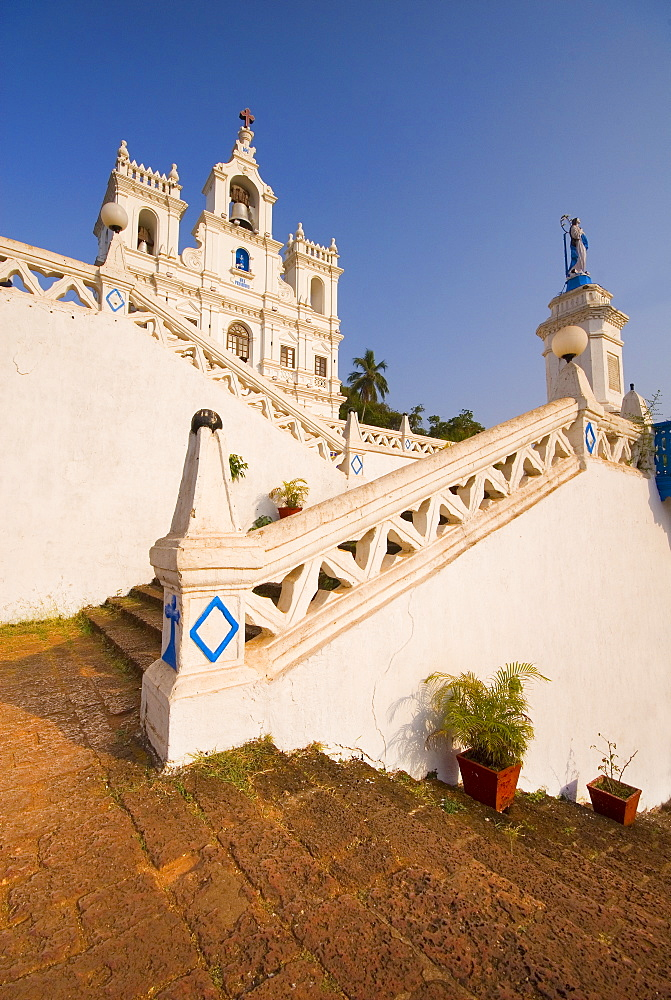 Church of Our Lady of the Immaculate Conception, UNESCO World Heritage Site, Panjim, Goa, India, Asia