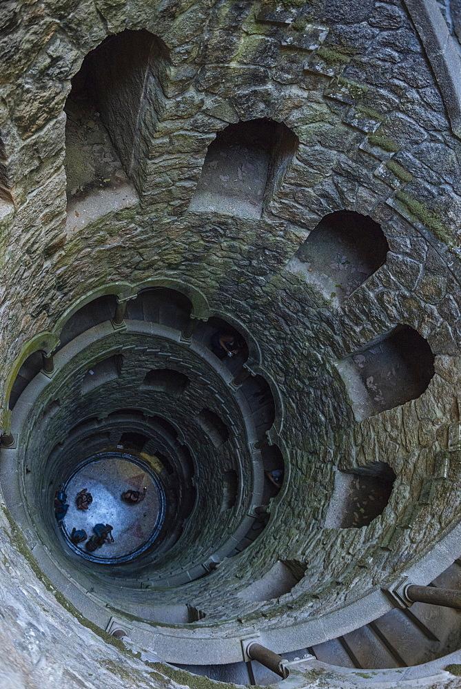 Poco Iniciatico, Quinta da Regaleira, UNESCO World Heritage Site, Sintra, Portugal, Europe