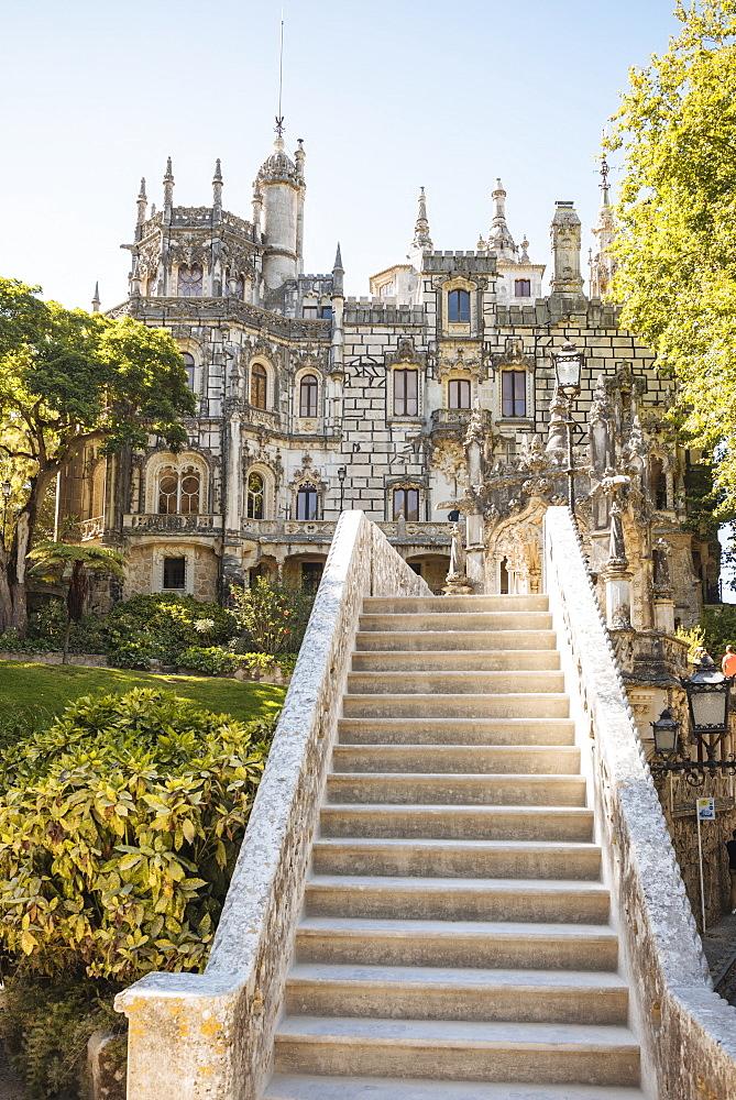 Exterior of Palacio da Regaleira, Quinta da Regaleira, Sintra, Portugal - 848-1440