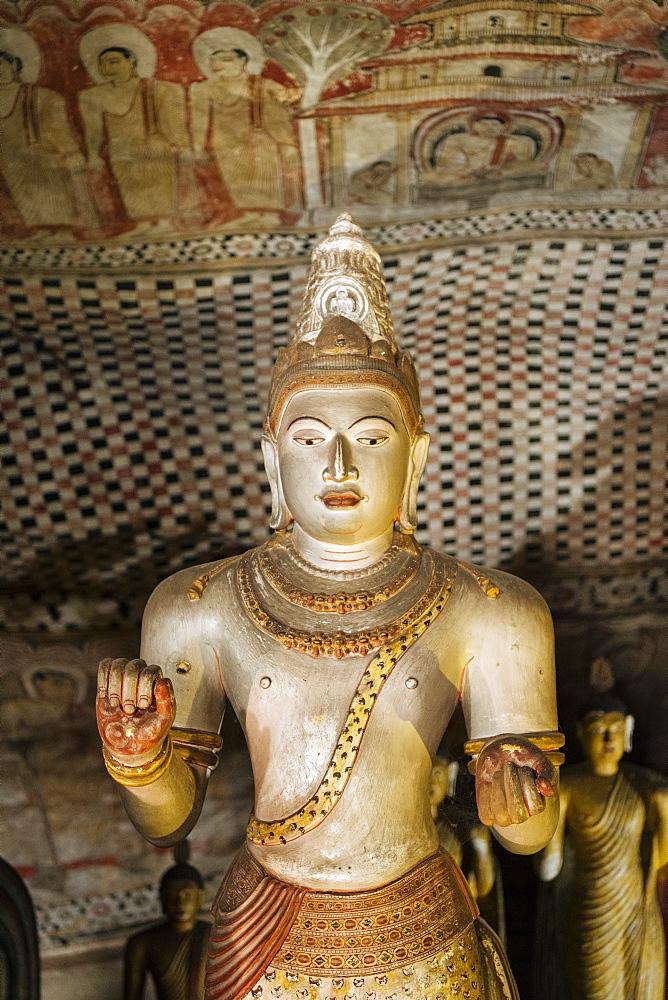 Dambulla Rock Cave Temple, Central Province, Sri Lanka, Asia - 848-1769