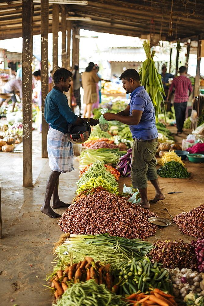 Jaffna Market, Jaffna, Northern Province, Sri Lanka, Asia