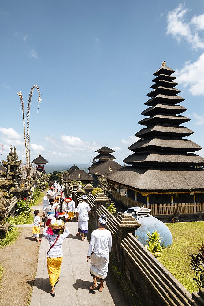 Pura Besakih Temple, Bali, Indonesia, Southeast Asia, Asia - 848-1917
