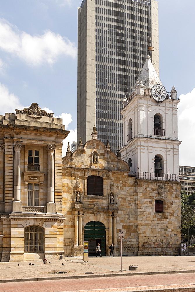 Iglesia de San Francisco, Bogotá, Cundinamarca, Colombia, South America