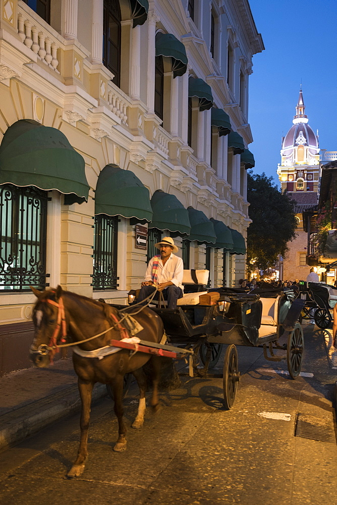 Carriages, Cartagena, Bolivar Department, Colombia, South America - 848-2094