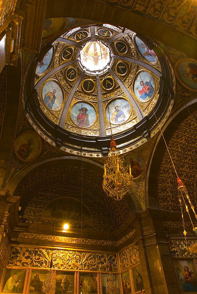 Interior of Monastery of Lluc (Monastir De Lluc), Mallorca, Balearic Islands, Spain, Europe