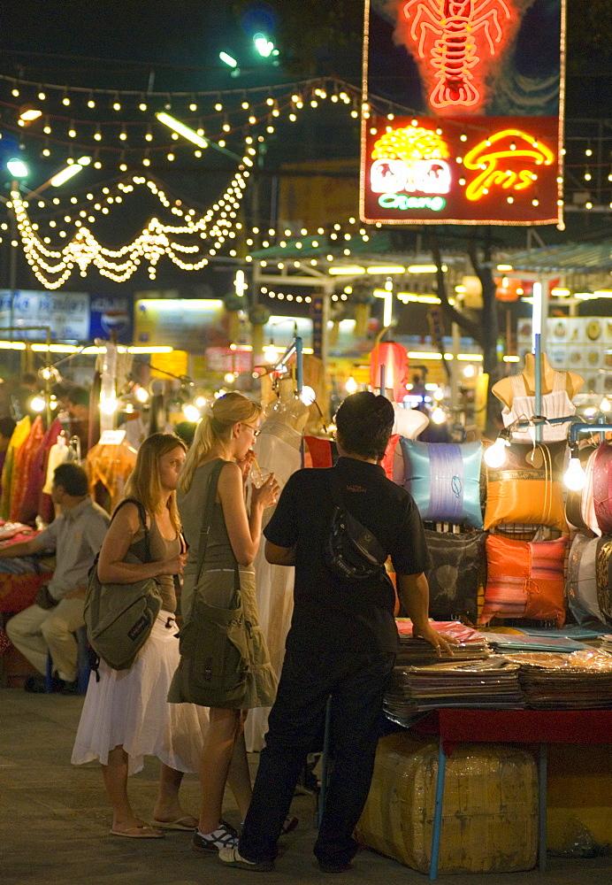 Chiang Mai Night Market, Chiang Mai Province, Thailand, Southeast Asia, Asia