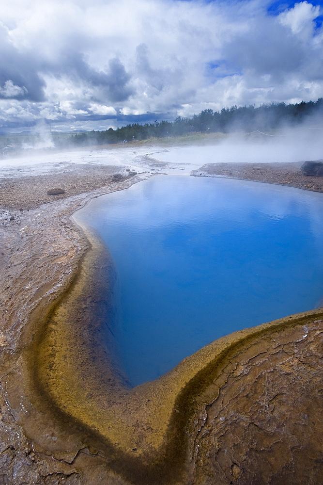 Geyser, Haukadalur valley, Iceland, Polar Regions