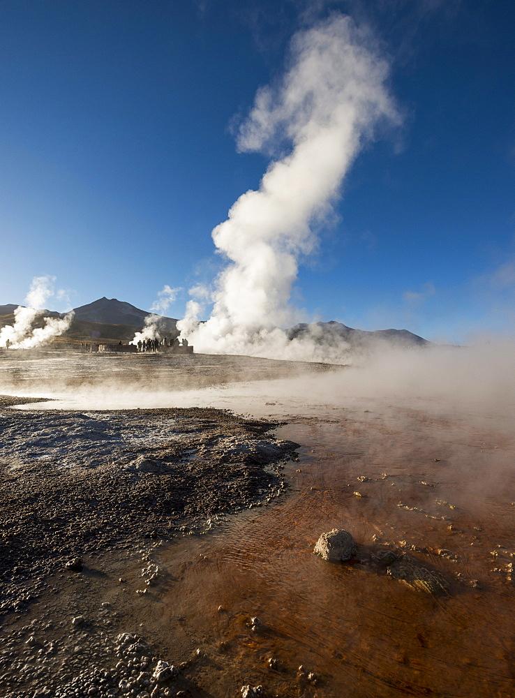 Tatio Geysers, Atacama Desert, El Norte Grande, Chile, South America