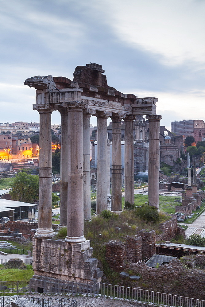 The Roman Forum (Foro Romano), Rome, Lazio, Italy, Europe