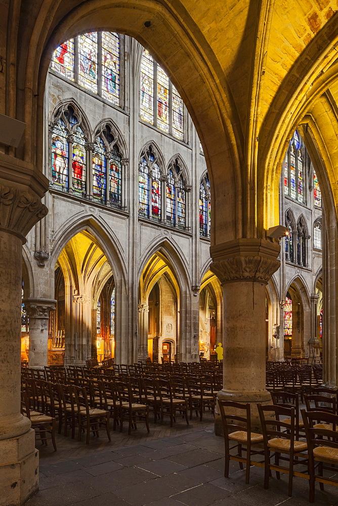 Eglise Saint Severin in Paris, France, Europe